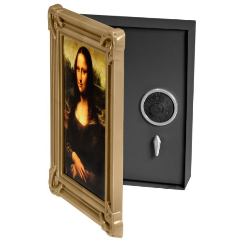 BARSKA Picture Frame Safe with Combination Lock