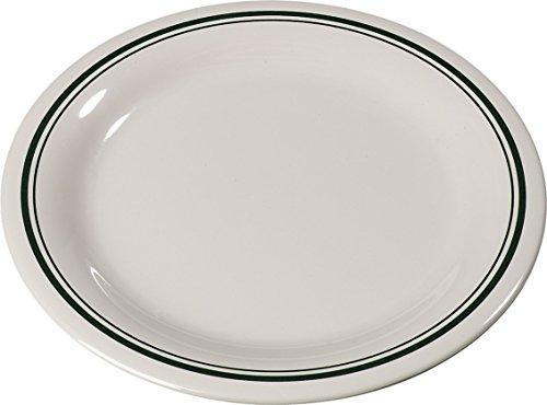Carlisle 43005905 Durus Melamine Narrow Rim Dinner Plate, 9