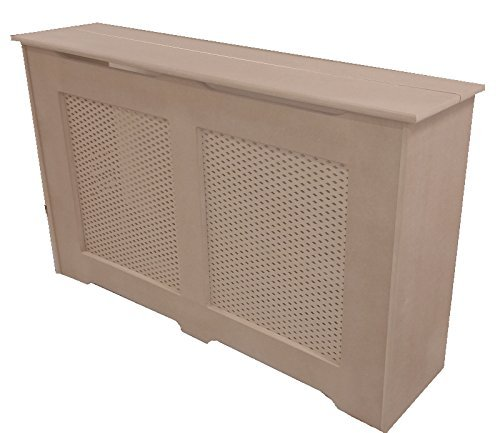 radiator cover extra deep hinged lid large. Black Bedroom Furniture Sets. Home Design Ideas