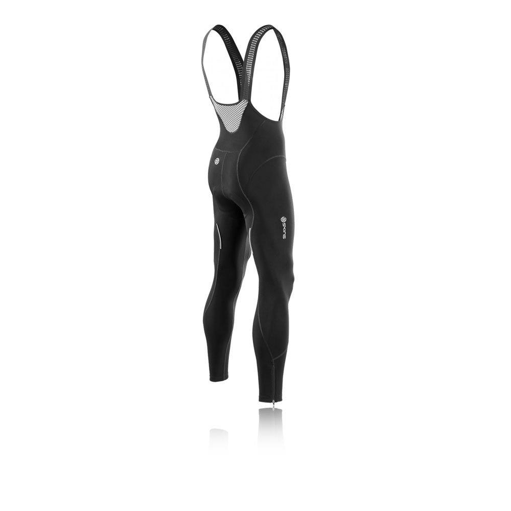 fbf589688 Skins Cycle Pro Compression Bib Long Tights - Medium Black  Amazon.co.uk   Clothing