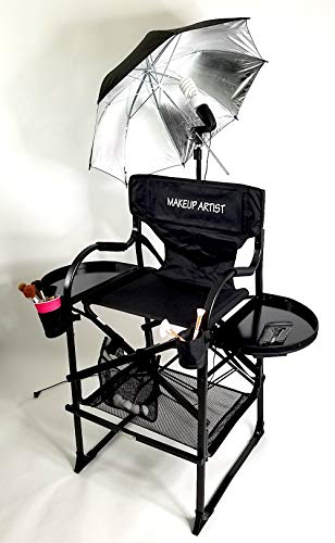 PRESALE--65TTR Unique Tuscany PRO Studio Professional Make up & Hair Chair with Professional Lamp Combo Product--29