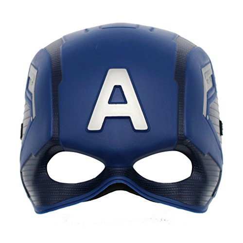 MICHLEY Cosplay Captain Mask for Kids, Clearance sale!!! (Kids Captain America Costume With Shield)