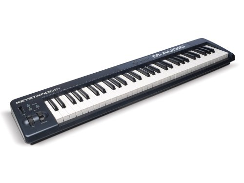 M-Audio Keystation 61 II | 61-Key USB MIDI Keyboard Controller with Pitch-Bend & Modulation Wheels
