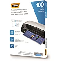 Fellowes Laminating Pouches, Letter Size, 3 mil, 100 pack (5743301)