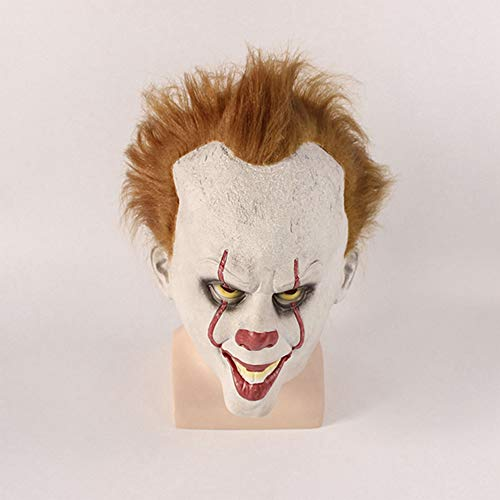 SUNLMG Halloween Clown Resurrection Mask Selection Perfect for