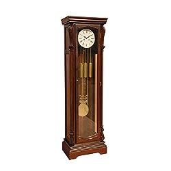 ACME Furniture 97077 Dabney Grandfather Clock, Dark Walnut