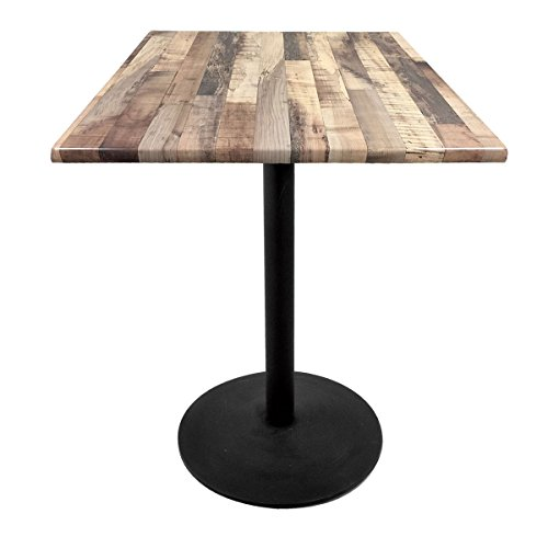 Holland Bar Stool Co. OD2142242B30SQRustic Enduro Top Indoor/Oudoor Table, Rustic