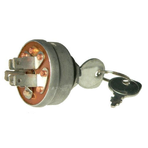 DB Electrical SSW2827 New Key Switch For Ariens Gt10-Gt18 Gravely Tractor Pro Master 30H 50 100 200 300 400 3115200 19223 129746 129846 AM103286 AM32318 430-249 2279450