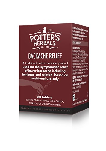 Amazon com: Potter's Backache Relief Tablets by Potters