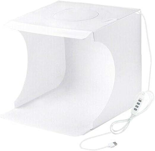 Reuvv Plegable Estudio Fotográfico, Caja de Luz para Fotografía ...