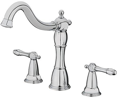 (Homewerks 50-BV2TNCH-AD Homewerks Victorian Series Two Handle Roman Tub Faucet, Trim Only, Chrome, )