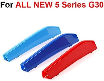 B M W 5 Series 2017 G30 G31 Rene griglia clip in Stripe Stripes cover Trim fibbia Decor 530I 540I 520D 530D m Power m sport Tech Bonnet Hood