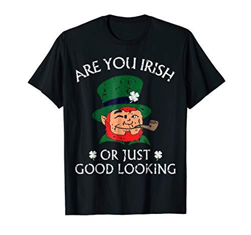 St Patricks Day Shirt Leprechaun Shamrock Shirt | Tshirt