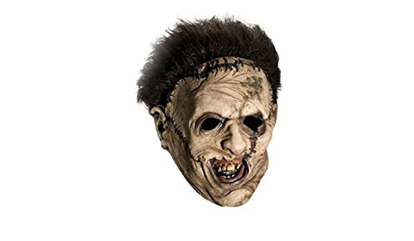Texas Chainsaw Massacre Leatherface mascara: Amazon.es: Juguetes y juegos