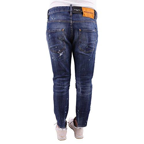 DSQUARED Jeans Cool Girl Cropped S75LB0036 Blue Denim hA5logX