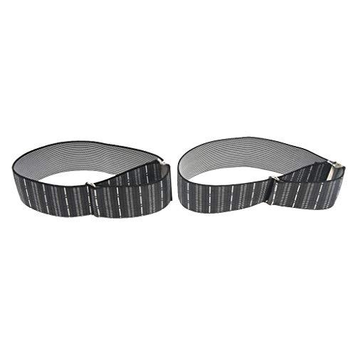 Fityle Men's Non Slip Elastic Shirt Garter Belt Sleeves Holder Arm Garter Band - Stripes, as described by Fityle (Image #2)