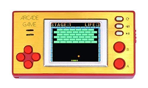 (Handheld Portable Arcade Video Game Console iWawa Retro Pocket 150+ Games for Kids to Adult)