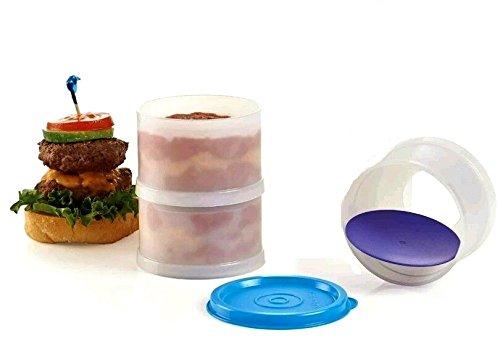 Tupperware Set of 3 Ice Cream Sandwich Maker / Slider Stacker Sandwich Maker Mold (Maker Slider Sandwich)