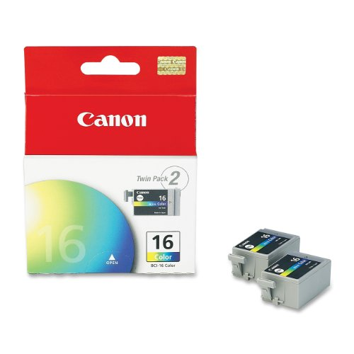 Canon BCI-16 Twinpack Color Ink Cartridges ()