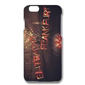 Eintracht Frankfurt FC Phone Case Creative Bright Frankfurt Logo 3D High Quality Cover Case for Iphone 6/6s 4.7 (inch)