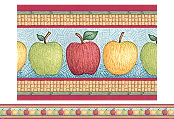 15 Pack TEACHER CREATED RESOURCES DM APPLES STRAIGHT BORDER TRIM