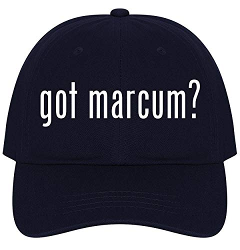 The Town Butler got Marcum? - A Nice Comfortable Adjustable Dad Hat Cap, Navy, One Size