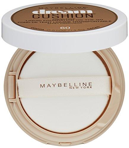 Maybelline Dream Cushion Fresh Face Liquid Foundation, Cocoa, 0.51 oz.