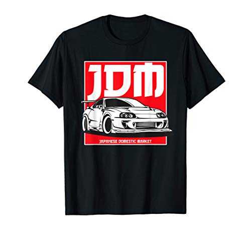 2JZ Legends Never Die, JDM Japanese Tuning Retro 90s Car Bdg T-Shirt