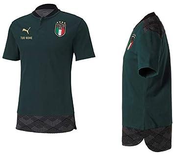 Maestri del Fútbol Polo RAPPRESENTANZA Verde FIGC Italia 2020/2022 ...