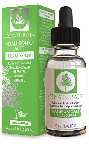 طريقة استخدام سيروم الهيالورونيك اسيد مع فيتامين سي للوجه Hyaluronic Acid