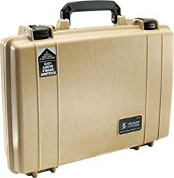 Pelican 1470 Laptop Case With Foam (Desert Tan)