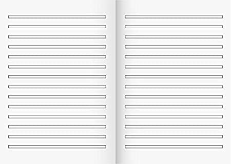 25 Stück  Schulheft  Schreibheft  Rechenheft  Landre  DIN  A4  Lin 7