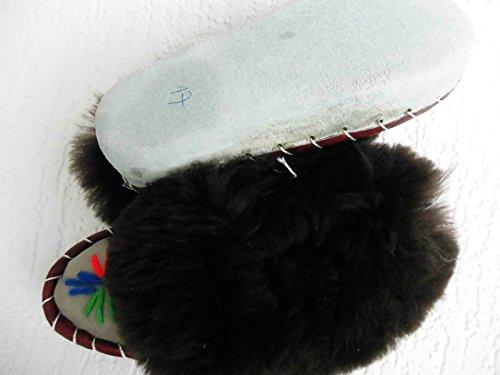 LAMMFELL Warme HAUSSCHUHE Gr.26 NEU, Schaffell/-leder (Made in Poland 2-84-21)