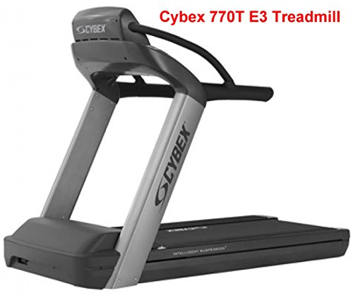 Cybex 770T Treadmill w/ E3 View Monitor - Seller Refurbished w/ (Cybex Treadmill)