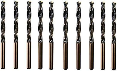 CNC QUALITÄT 10 Stück Spiralbohrer Ø 4,0 mm - Made in Germany - DIN 338