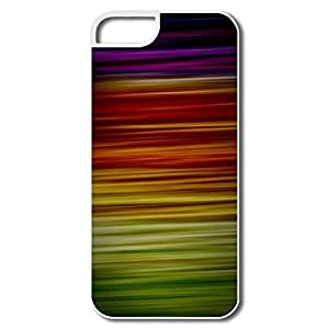 Geek Rainbow Texture IPhone 5/5s Case For Team