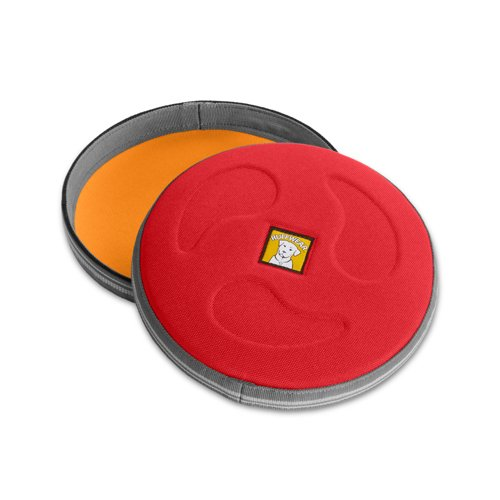 Ruffwear 60102-615L Hundefrisbee, Large, rot currant