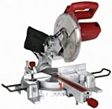 10 Inch Sliding Compound Miter Saw with 45 Degree Bevel and Dust...