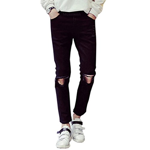 Mokewen-Mens-Straight-Hole-Destroyed-Ripped-Capri-Jeans