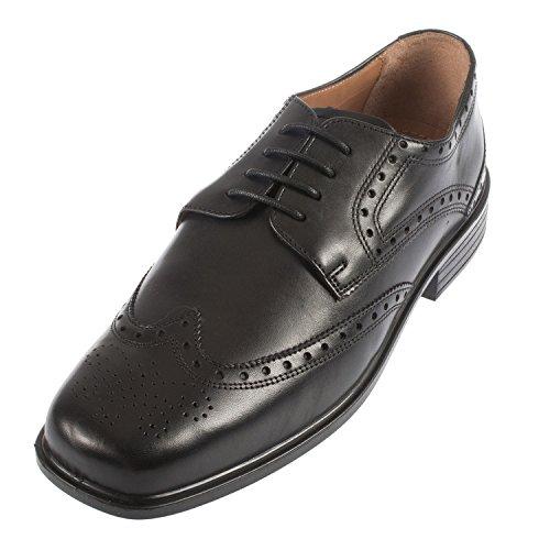Chaussures En Cuir Synthétique Pour Les Hommes En Dentelle (146/11), La Couleur Multicolore, Taille 46