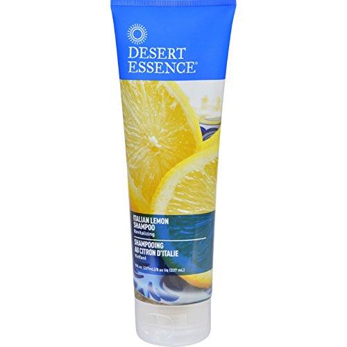 Desert Essence Shampoo - Italian Lemon - 8 oz (Pack of 3)