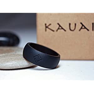 KAUAI - Silicone Wedding Rings - Leading Brand, from the Latest Artist Design Innovations to Leading-Edge Comfort: Pro-Athletic Ring and Kauai Elegance Collection for Men