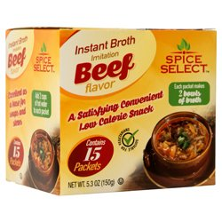 Select Beef - Wholesale INSTANT BROTH BEEF LAVOR 15CT/5.1Z #SPICE SELECT