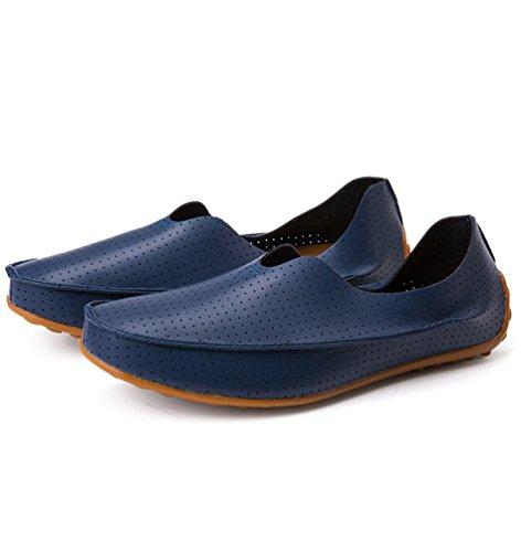 Dooxi Mocassini Barca Scarpe Elegante Blu Moda Durevole Casuale Piatto Uomo 40 Scarpe r0warq