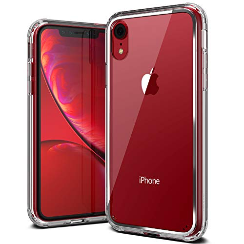 Acryl Crystal - iPhone XR Case, VRS Design [Transparent] Crystal Clear Heavy Duty Protection [Crystal Chrome] Anti-Yellowing Acryl Back, TPU Bumper Compatible with Apple iPhone XR (2018)