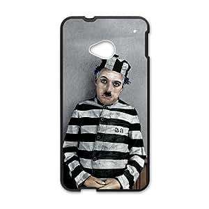 Charlie Chaplin HTC One M7 Cell Phone Case Black SH6065702