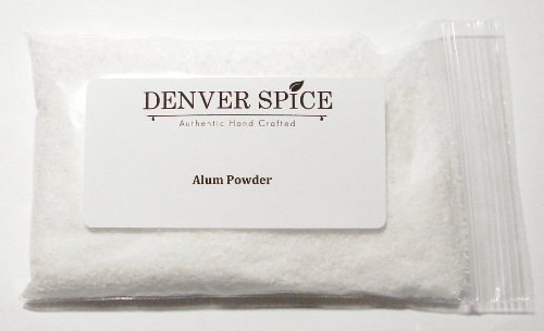 Alum Powder-2Lb Heat Sealed Pouch