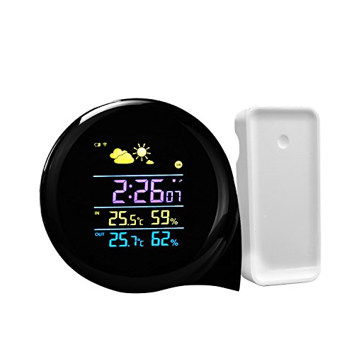 Weather Station Indoor Temperature Humidity Monitor