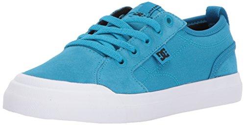 (DC Boys' Evan Skate Shoe Blue 5 M US Big Kid)