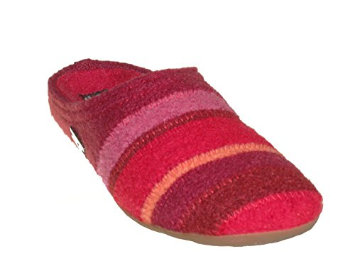 rosso unisex adulto Pantofole Prisma 481004 Haflinger OwqxBTC